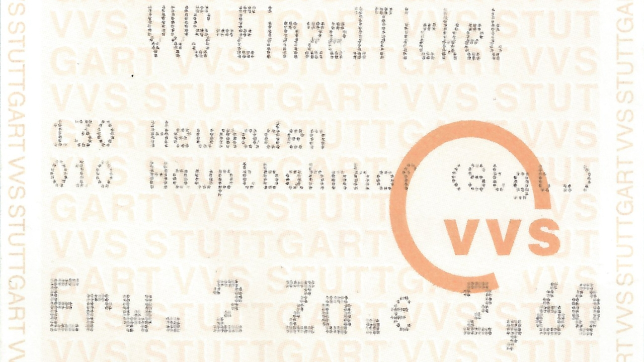 Stuttgart Ticket
