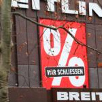 """""""Wir schließen"""" Breitling"""